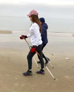 nordic walking technika